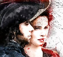 """""""Complicated"""" ~ Ross and Elizabeth  by redsangre"""