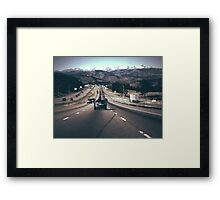Colorado Mountains Framed Print