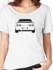 Nissan GTR R32 Black Women's Relaxed Fit T-Shirt