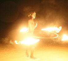 Fire Dancers, Koh Somet, Thailand by indiafrank