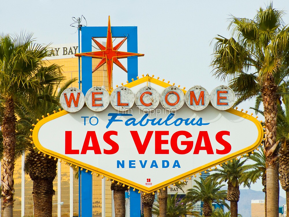 Welcome to Las Vegas by Tim Topping