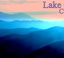 Lake County Blue Mountains Mug by posterity