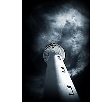 Beacon in the Storm Photographic Print