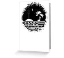 Chris and Jen Show - Space Coast - Black Greeting Card