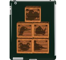 Donkey Kong Country - Animal Crates iPad Case/Skin