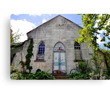 New Age Church - Braidwood Canvas Print