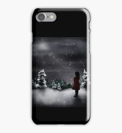 Christmas scene 2013 iPhone Case/Skin