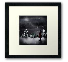 Christmas scene 2013 Framed Print