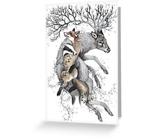protect our wildlife  Greeting Card