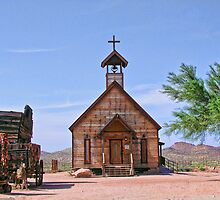 LITTLE CHURCH IN THE DESERT by RGHunt