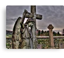Don`t Blink..! Canvas Print