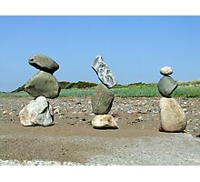 Balance trio Photographic Print