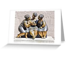 'Les chuchoterses' by Rose-Aimee Belanger Greeting Card