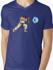 Ryo Hadouken Mens V-Neck T-Shirt