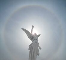 Angel Solar Halo by David Tiller
