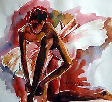 Ballerina by shagufta