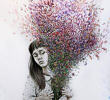 I tried to draw my soul but all I could think of was flowers by Kate Powell
