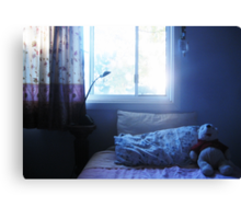 Bear, one lazy afternoon. Canvas Print
