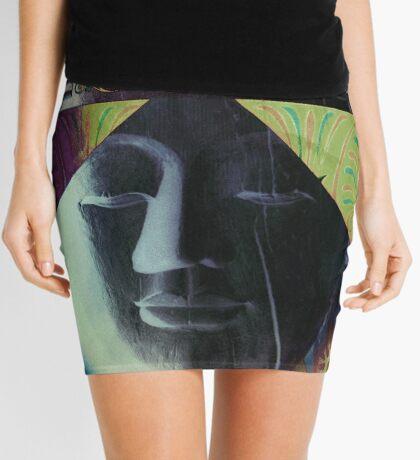 5718c Buddha Mini Skirt