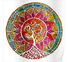 Tree of Life Mandala Poster