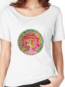 Tree of Life Mandala Women's Relaxed Fit T-Shirt