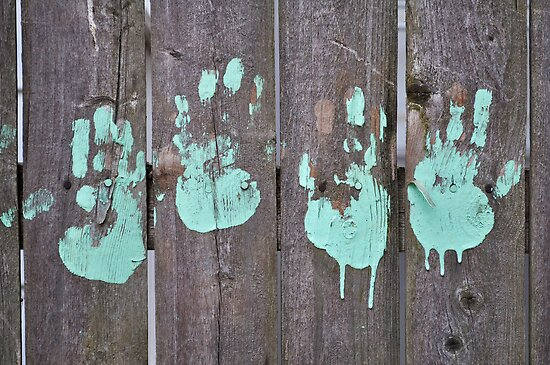 Childs Hand Print by godesigngroup