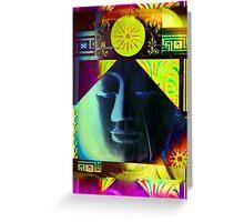 5718b Buddha Greeting Card
