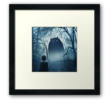 The Story begins Framed Print