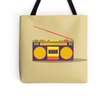 boombox - old cassette - Devices Tote Bag