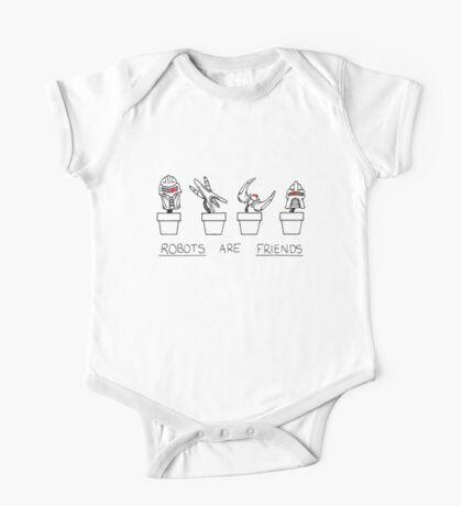 Robots Are Friends One Piece - Short Sleeve