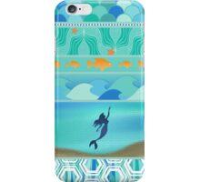The Little Mermaid Mosaic iPhone Case/Skin