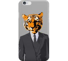 Tiger Businessman iPhone Case/Skin