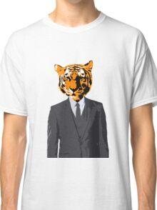 Tiger Businessman Classic T-Shirt