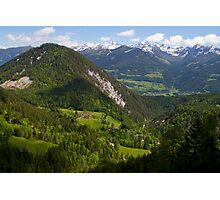 Alpine Landscape Photographic Print