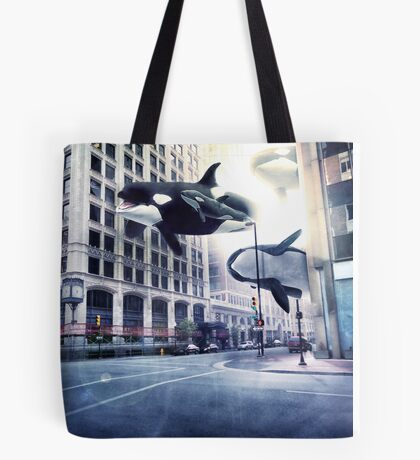 City of whales Tote Bag