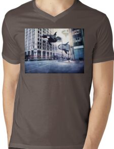 City of whales Mens V-Neck T-Shirt