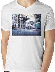 City of whales Mens V-Neck T-Shirt