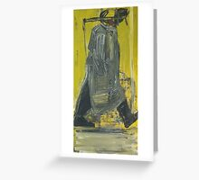 walking man Greeting Card