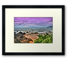 A View from Maluaka Beach Framed Print
