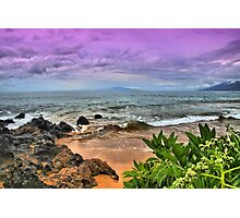 A View from Maluaka Beach Photographic Print