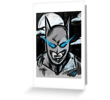 Batman Dark Knight  vs Superman Greeting Card