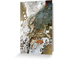 overspill Greeting Card