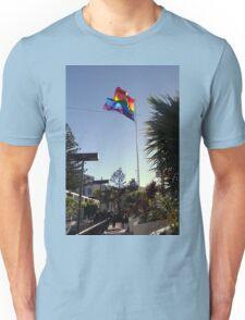 The Rainbow Flag Backlit Unisex T-Shirt