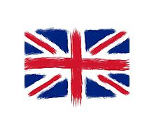 Abstract Union Jack Photographic Print