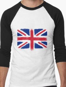 Abstract Union Jack Men's Baseball ¾ T-Shirt