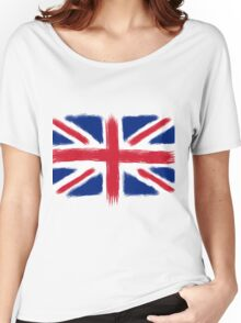 Abstract Union Jack Women's Relaxed Fit T-Shirt