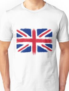 Abstract Union Jack Unisex T-Shirt