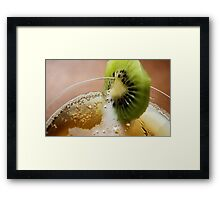 NOTHING LIKE AN KIWI COOLER ON A HOT DAY! Framed Print