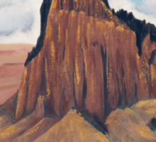 Shiprock New Mexico ~ T-shirt and Sticker Sticker