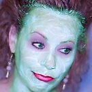 Beauty Mask III by Leslie  Hagen